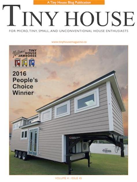 home tiny house magazine