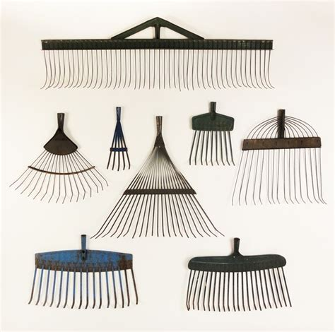 antique rake heads repetition pinterest