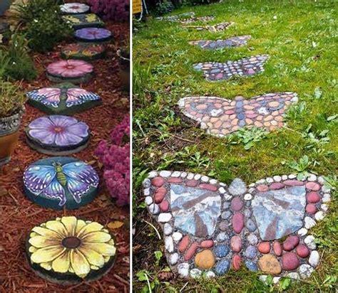 Garden Stepping Stones Ideas 23 And Whimsical Garden Stepping Ideas Diy Cozy Home