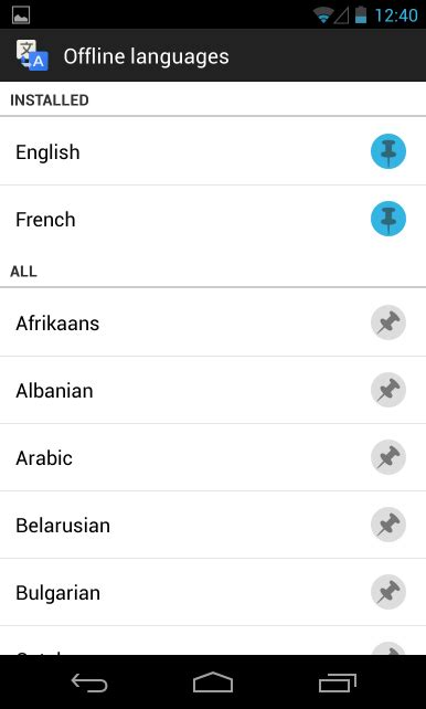 what language does android use 5 tricks to use your android phone as a travel guide without mobile data