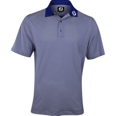 Big Size Xxxl Polo Shirt Footjoy footjoy prodry perf lisle feeder stripe tour logo collar shirt apparel at globalgolf