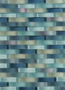 glass tile backsplash ripple waterfall provided by
