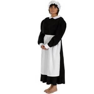 Maid costume victorian parlour maid costume includes black dress