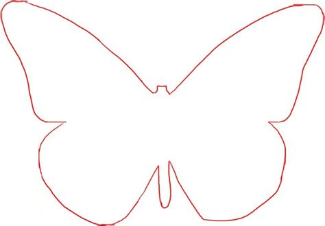 butterfly wing template best photos of easy butterfly template butterflies cut