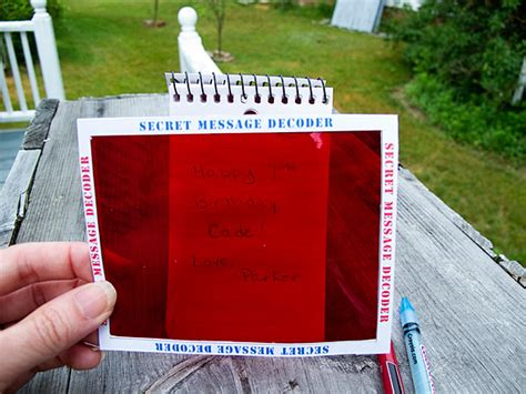 How To Make A Message On Paper - secret kit 171 stitch craft