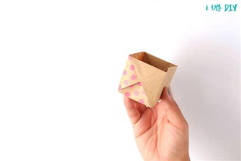 diy origami box origami box basket i try diy