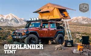 Roof Tent For Jeep Wrangler Smittybilt 2783 Overlander Roof Top Cing Tent W Ladder