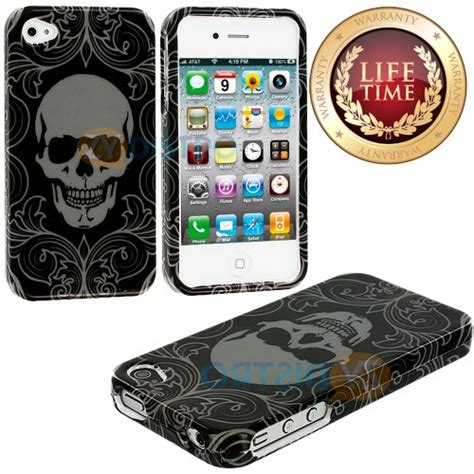 Skulls Illusion Hardshell For Iphone 4 4g 4s neon lights minnesota neon light neon