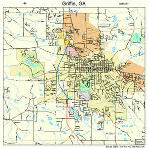 map of griffin griffin map 1335324
