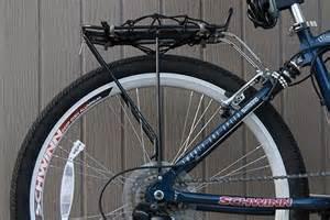 mounting a rear rack on a schwinn midtown drive my bike