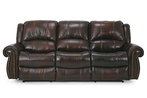 reclining power sofa dallas leather power reclining sofa at gardner white