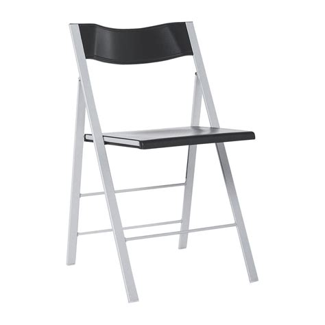 lulu chaises pliantes  dappoint anthracite metal