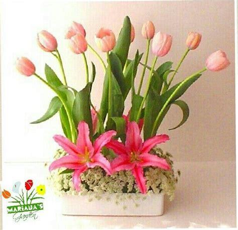 cym stelan asifa matahari pink delicado arreglo con tulipanes y lirios en tono color rosa