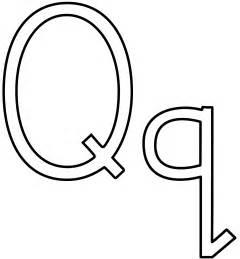 letter q coloring page letter q coloring page alphabet