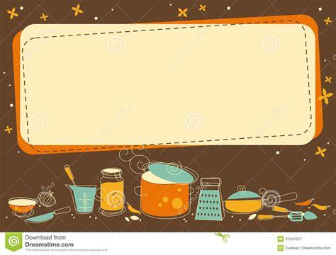 Kitchen Utensil Canister kitchen frame stock vector image of nobody element