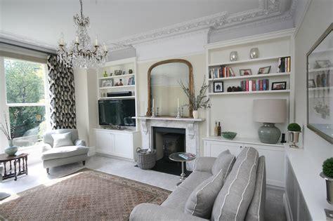 Livingroom Units twin alcove units with tv landscape enlargement 2