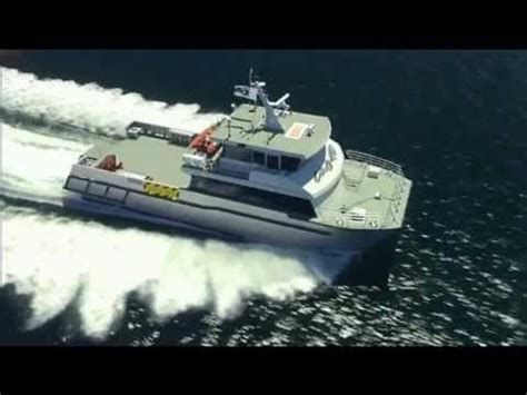 catamaran workboat 24m catamaran workboat unlimited designed by incat