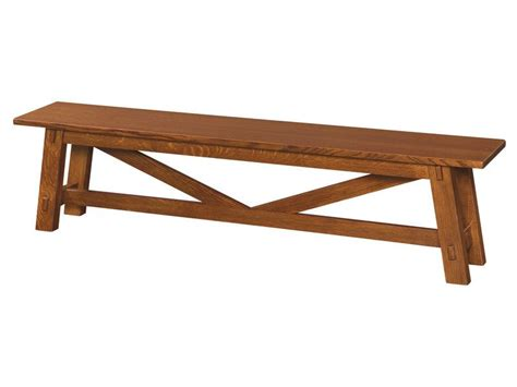 mpi bench benches amish furniture by brandenberry amish furniture