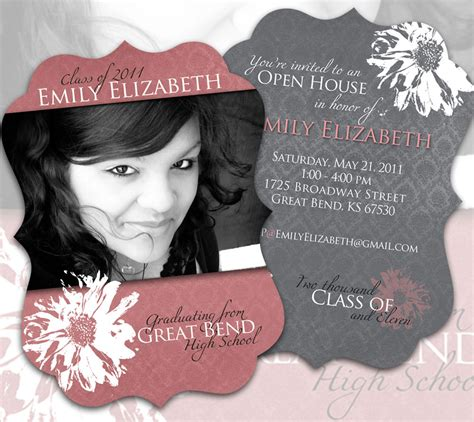 Graduation Invitation Backgrounds Free Graduation Announcement Design Templates