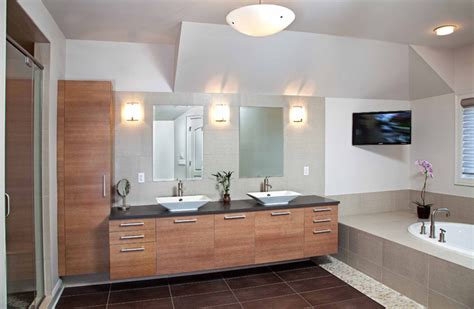 Modern Master Bathroom Remodel Ideas Modern Master Bathroom Spa Design Contemporary