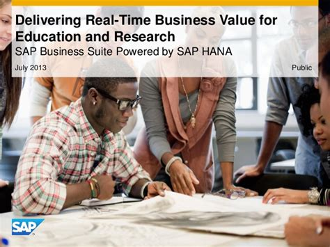 Mba In Higher Education And Research Management In Usa by Delivering Real Time Business Value For Higher Education