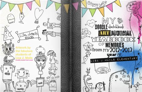 art design high school yearbook drawn cover yearbook pencil and in color drawn cover