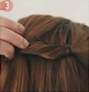 tutorial sanggul unik tutorial rambut wanita gaya sanggul hati unik dan sederhana