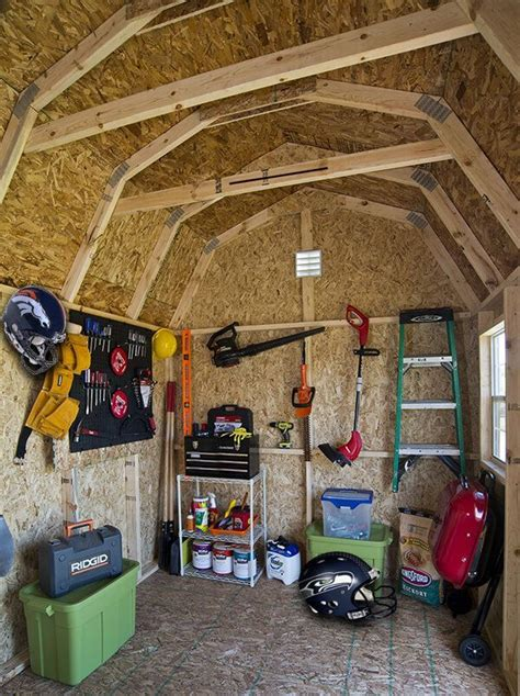 pin  shed man cave