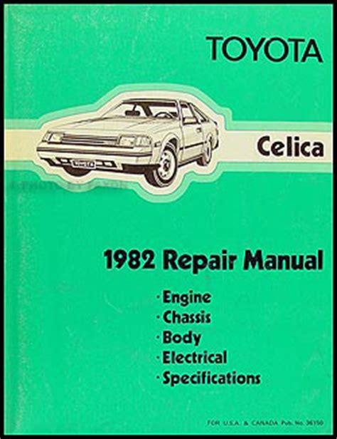 car repair manual download 1982 toyota celica user handbook 1979 1983 toyota corona celica manual transmission repair manual original