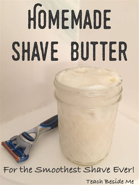 Handmade Birthday Gifts For Guys - easy shave butter for or teach beside me