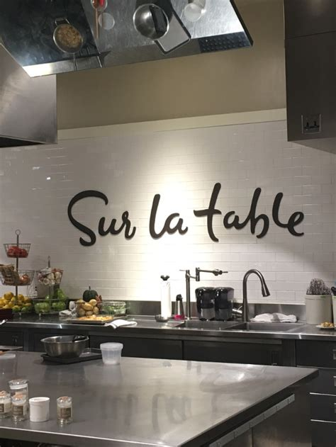 Table La Sur by Sur La Table Cooking Class N Spice