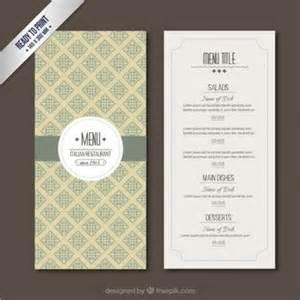 free templates for menus plantilla editable de carta de restaurante descargar