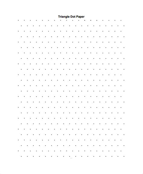 printable graph paper triangle sle triangular graph paper template 9 free documents