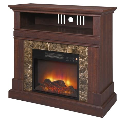 36 Electric Fireplace by New 36 Quot Electric Fireplace Tv Stand Walnut Finish Faux