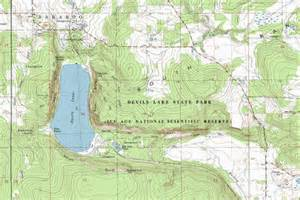 Devils Lake State Park Map by My Wisconsin Space 187 Topographic Map Of Devil S Lake State