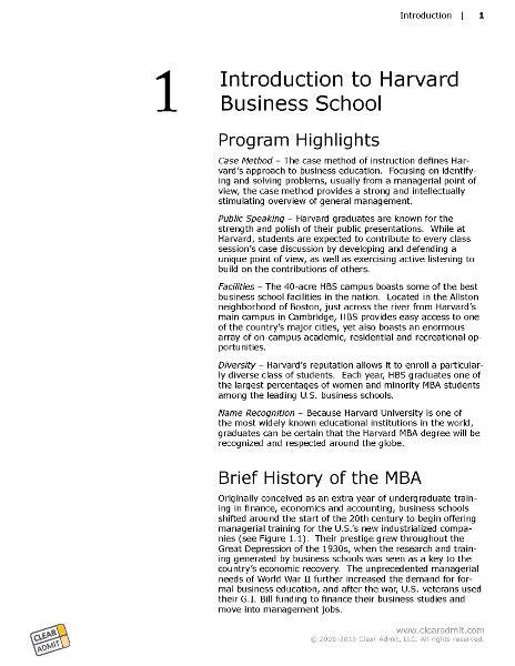 Harvard Mba Admission Criteria by School Guide Harvard Business School