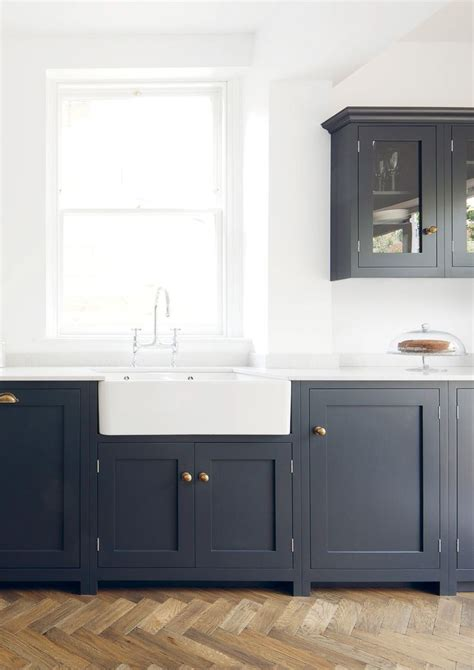 Shaker Style Kitchen Cabinets by Navy Brass Shaker Style Cabinets Modern Farmhouse