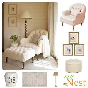Reading Chair And Ottoman Design Ideas Nook Decorating Idea Cozy Corner 171 Mynest