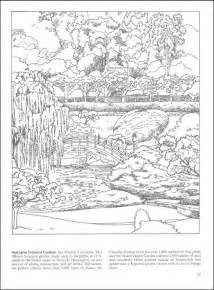 Galerry coloring pages for adults garden