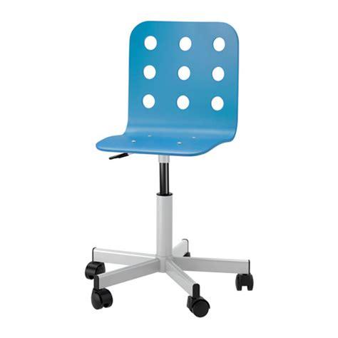 Jules Junior Chaise De Bureau Bleu Couleur Argent Ikea Chaises De Bureau Ikea