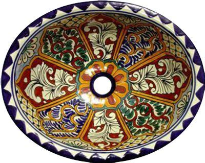 mexican hand painted sinks 17 best images about mexican pottery on pinterest