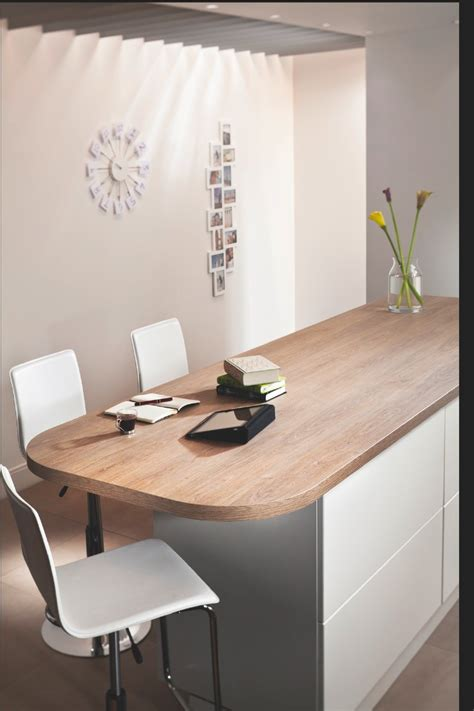 Kitchen Worktop Ideas quebec oak worksurface from bushboard works trend for