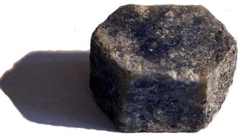 Black Sapphire Corundum corundum