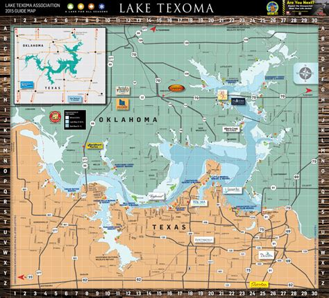 map of lake texoma ok pictures to pin on pinsdaddy