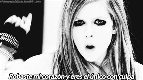 imagenes gif frases de amor avril lavigne quotes gif find share on giphy