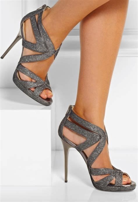 High Heels M2m 3 editor s jimmy choo wedding shoes high heel sandals and gray