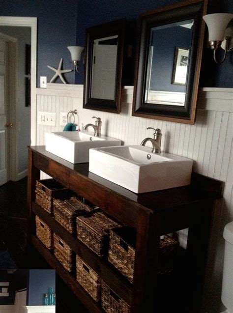 diy farmhouse vanity bathroom tutorials in 2019