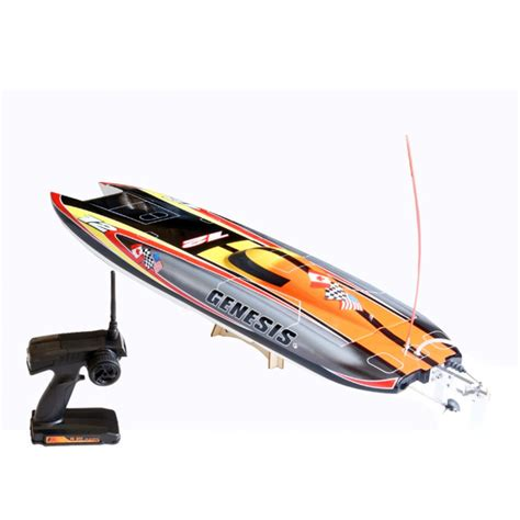 offshore rc gas boats genesis offshore twin hull boat rtr value hobby