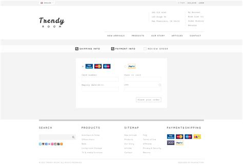 payment page html template trendy room elite e commerce html template by
