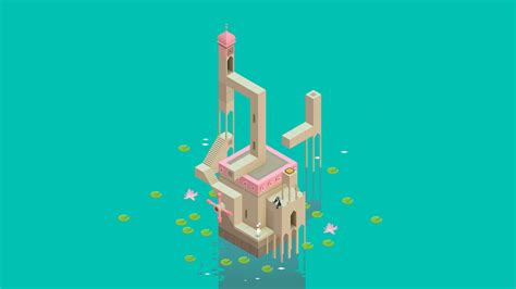 Wallpaper Monument Valley Game | monument valley full hd wallpaper and background